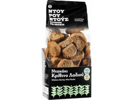 Krétské suchary dakos z jecmene Greek Market