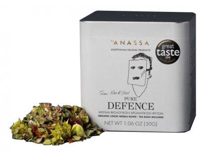 BIO bylinkový čaj PURE DEFENCE 30g ANASSA