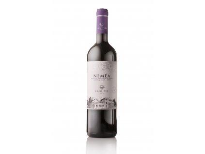 Červené suché víno EŔGO NEMÉA 2017 LANTIDES 750 ml