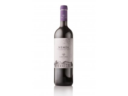 Červené suché víno EŔGO NEMÉA 2018 LANTIDES 750 ml