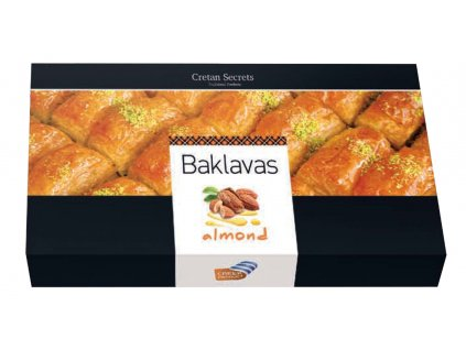 Baklavas almond cs