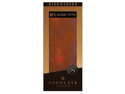80% horka cokolada s kajenskym peprem a skorici Agapitos Greek Market