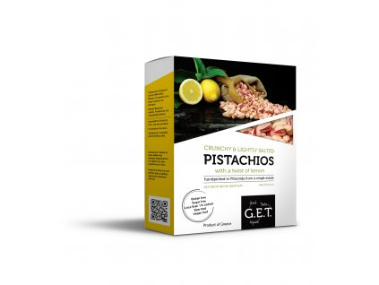 pistachios box lemon