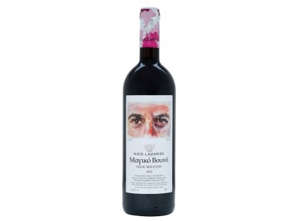 Magic Mountain cervene vino 2013 Nico Lazaridi Greek Market