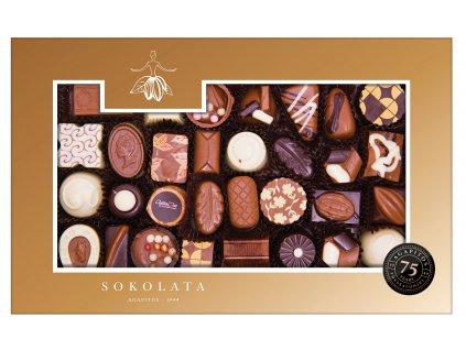Cokoládové pralinky classic Sokolata Agapitos Greek Market