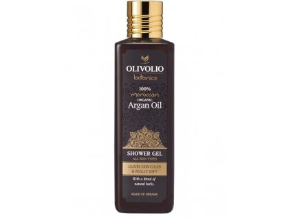 olivolio argan oil shower gel packshot a16 rgb