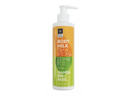 Body farm bodymilk mandarinka