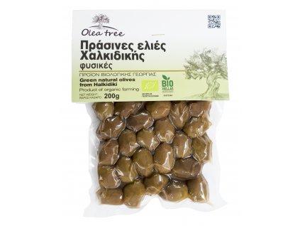 Olea tree Chalkidikis zelene