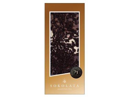 Mlecna horka a bila cokolada s oreo susenkami Sokolata Agapitos Greek Market