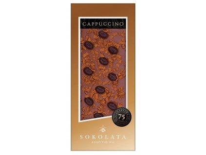 Mlecna cokolada Cappuccino Sokolata Agapitos Greek Market