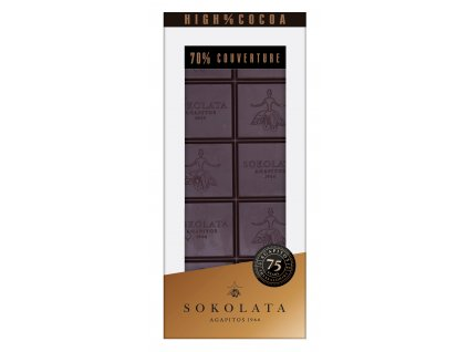 70% horka cokolada Agapitos Greek Market