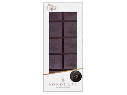Horka cokolada bez cukru Sokolata Agapitos Greek Market