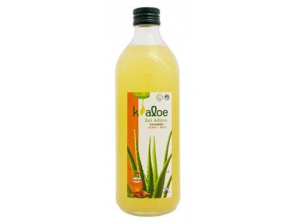 Kaloe Aloe vera gel s medem Greek market