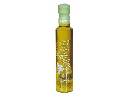 Extra panensky olivovy olej s cesnekem Liokarpi