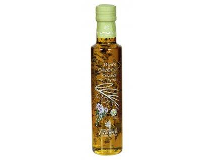 Liokarpi extra panensky olivovy olej s tymianem Greek Market