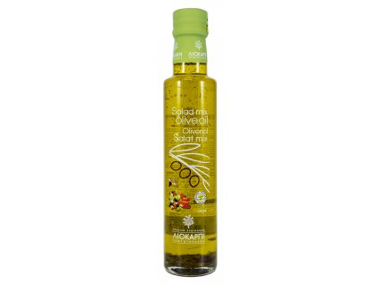 Liokarpi extra panensky olivovy olej s mixem do salatu Greek Market