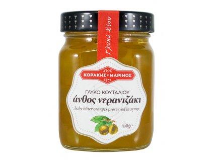 Korakis Marinos mini horke pomerance v sirupu Greek Market