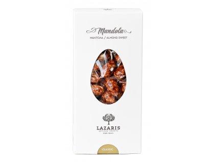Lazaris mandola prazene mandle s karamelem Greek Market