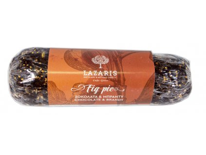 Lazaris fikova tycinka s cokoladou a brandy Greek Market