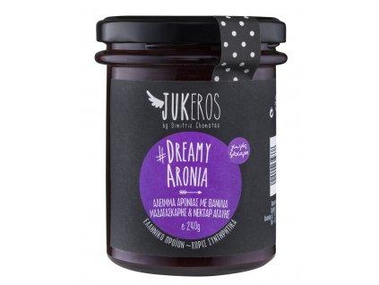 Pomazánka z aronie s vanilkou bez cukru Jukeros Greek Market