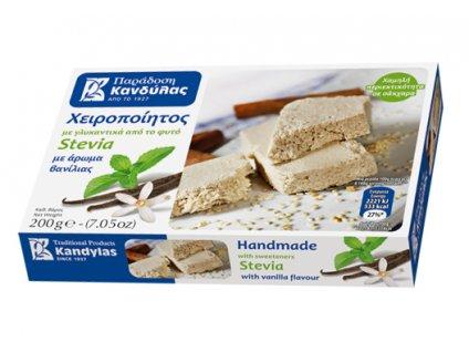 Chalva bez cukru s vanilkou Kandylas Greek Market
