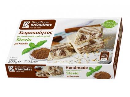 Chalva bez cukru s kakaem Kandylas Greek Market