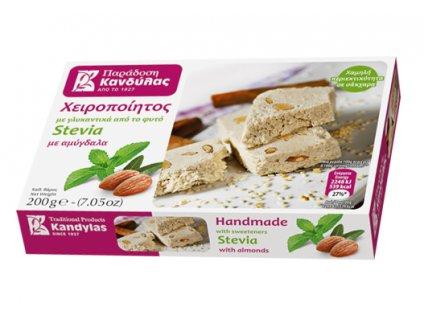 Chalva bez cukru s mandlemi Kandylas Greek Market
