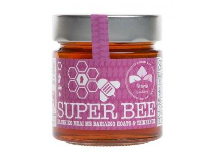 Med s materi kasickou a zensenem Super Bee Greek Market