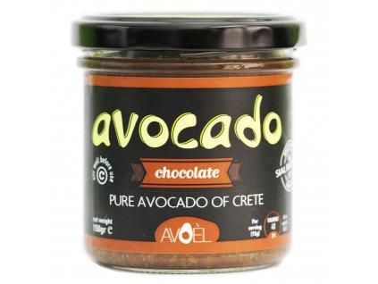 Pomazanka z kretskeho avokada s čokoládou Avoel Greek Market