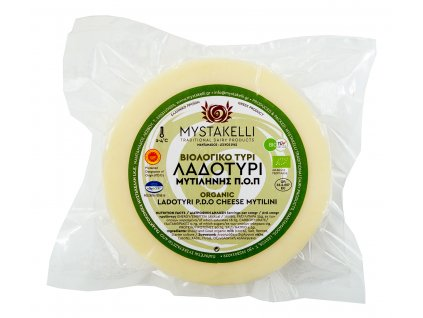 BIO ladotyri z ovciho a koziho mleka Mystakelli Greek Market