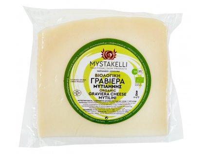 BIO Graviera z ovciho a koziho mleka Mystakelli Greek Market