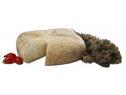 Graviera s oreganem z ovciho mleka cely syr Stathori Greek Market