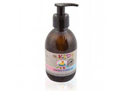 vyr 264natural shampoo and shower gel for kids