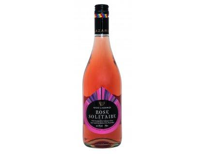 Solitaire ruzove polosumive polosuche vino Nico Lazaridi Greek market