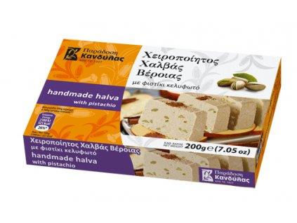 Chalva s pistaciemi 200g Kandylas Greek Market