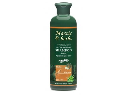 Mastic and herbs sapon pro podporu rustu vlasu GreekMarket