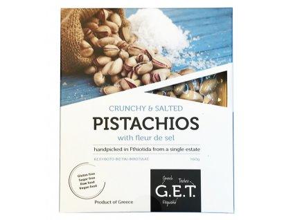 GET pistacie solene kvetem morske soli v krabice Greek Market
