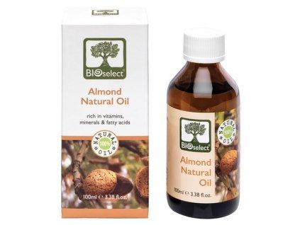 BIOselect prirodni mandlovy olej GreekMarket