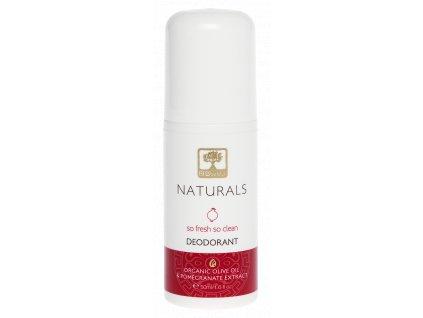 BIOselect NATURALS deodorant s BIO olivovym olejem a extraktem z granatoveho jablka GreekMarket
