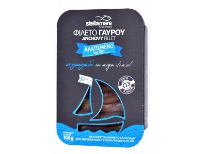 StellaMare solené ancovicky v extra panenskem olivovem oleji GreekMarket