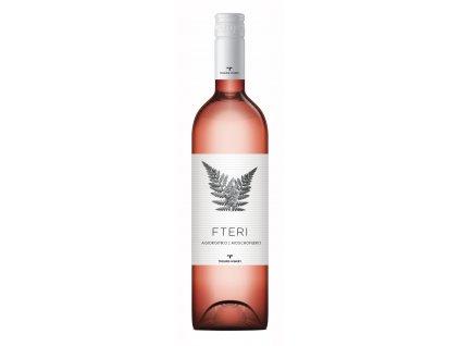 Troupis ruzove suche vino FTERI Agiorgitiko Moschofilero Pelopones GreekMarket