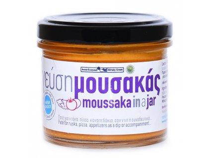 Simply Greek pomazanka MOUSAKA s rajcaty, lilkem a syrem feta GreekMarket