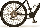 Kola s motorem v zadním kole