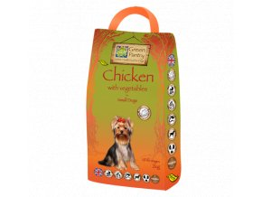 Green Pantry CHICKEN & VEGETABLES 80/20 Small Dog 2 kg
