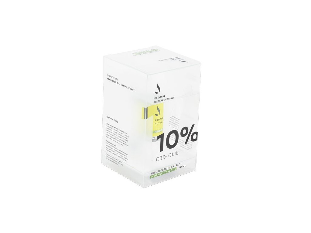 10ML - PROCARE 10% CBD HEMP SEED