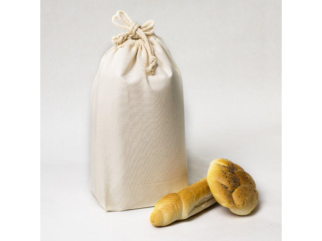 bavlneny pytlik na pecivo nakupy maly greenloop cz