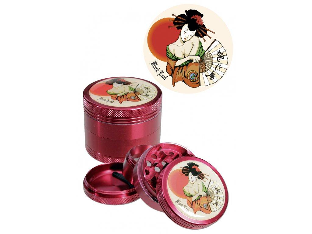 'BL' 'Geisha' Grinder 2 part red