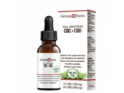 CBC + CBD oil