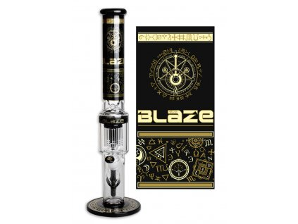 'Blaze' 'Alchemie' Ice Bong with 10 Arm Percolator