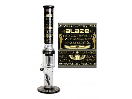 'Blaze' 'Egypt' Ice Bong with 10 Arm Percolator